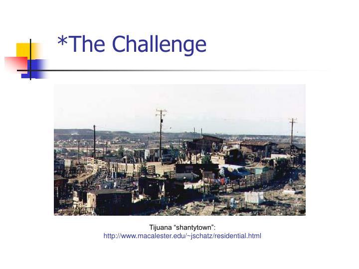 *The Challenge