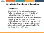 vehicle collision review committee