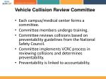 vehicle collision review committee1