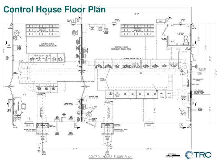 Control House Floor Plan