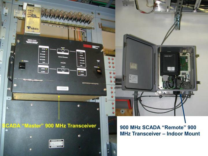 """SCADA """"Master"""" 900 MHz Transceiver"""
