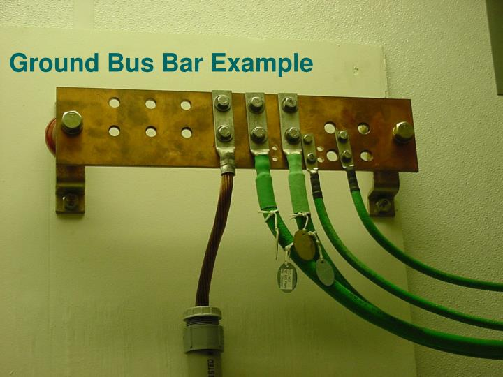 Ground Bus Bar Example