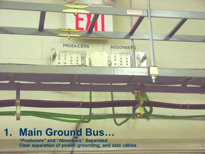 Main Ground Bus…