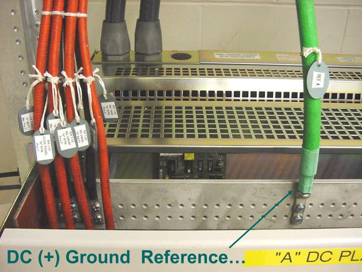 DC (+) Ground  Reference…