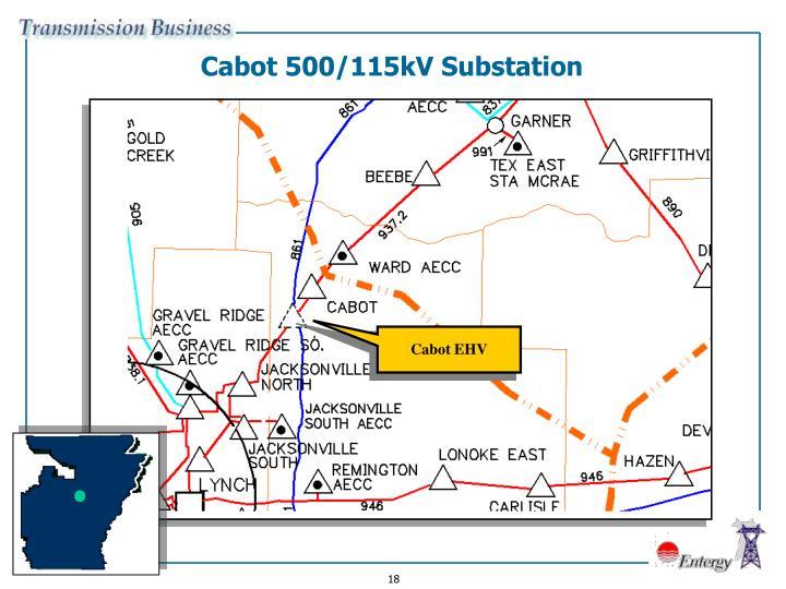 Cabot 500/115kV Substation