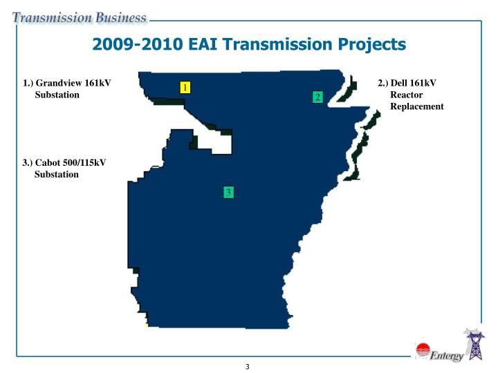 2009-2010 EAI Transmission Projects