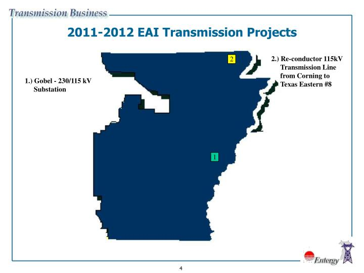 2011-2012 EAI Transmission Projects
