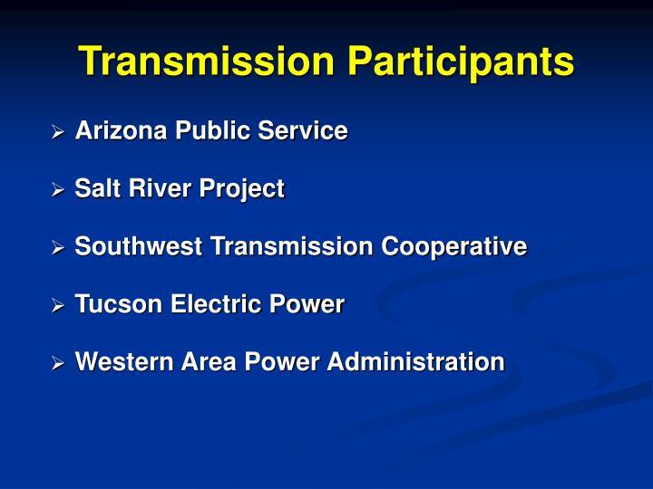 Transmission Participants