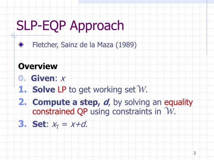 SLP-EQP Approach