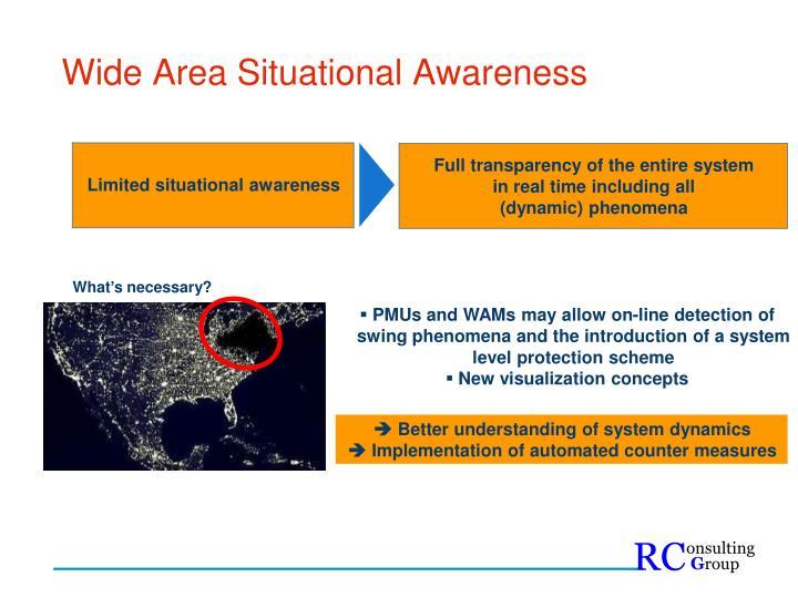 Wide Area Situational Awareness
