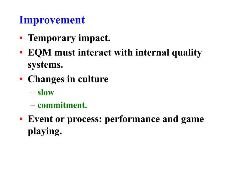 Improvement