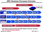 erp business processes overview