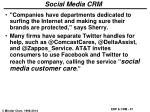 social media crm