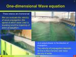 one dimensional wave equation1