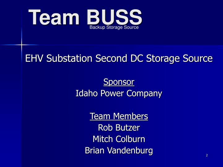 Team BUSS