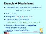 example discriminant2