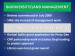 biodiversity land management