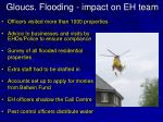 gloucs flooding impact on eh team