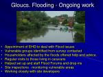 gloucs flooding ongoing work