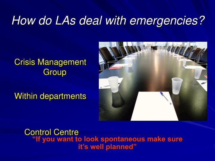 Crisis Management Group