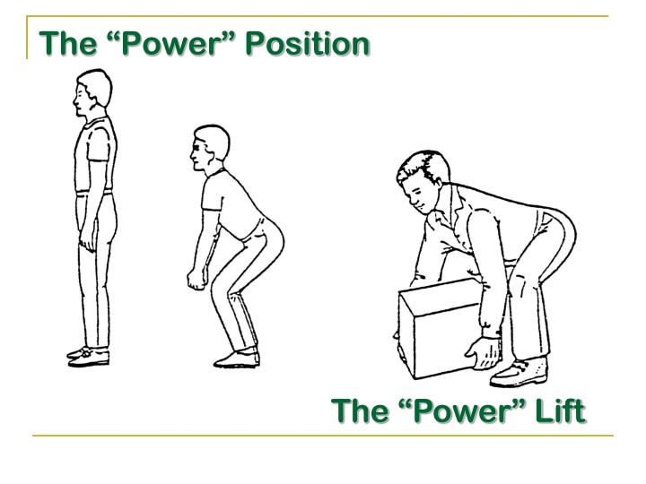 """The """"Power"""" Position"""
