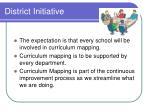 district initiative