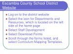 escambia county school district website www escambia k12 fl us