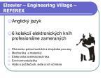 elsevier engineering village referex