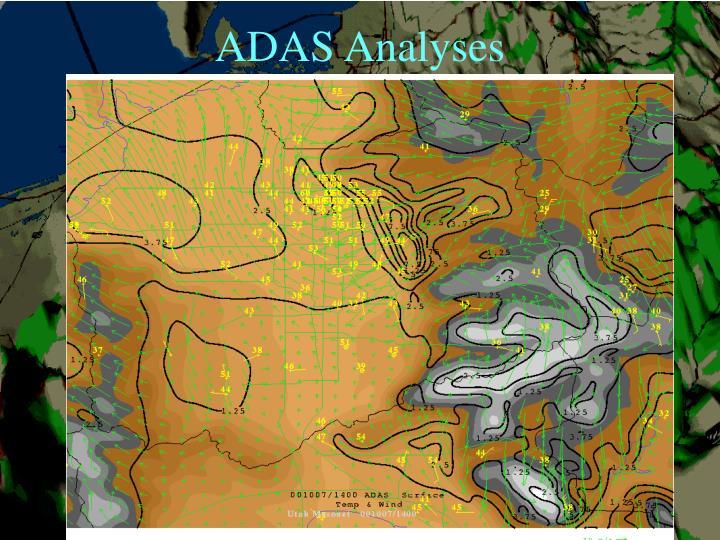 ADAS Analyses