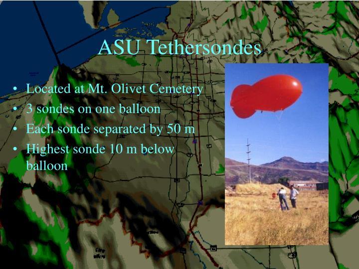 ASU Tethersondes