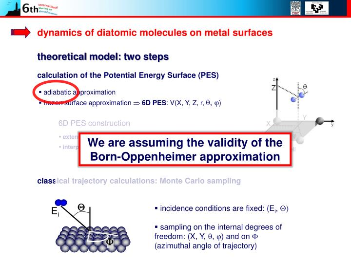 dynamics of diatomic molecules on metal surfaces