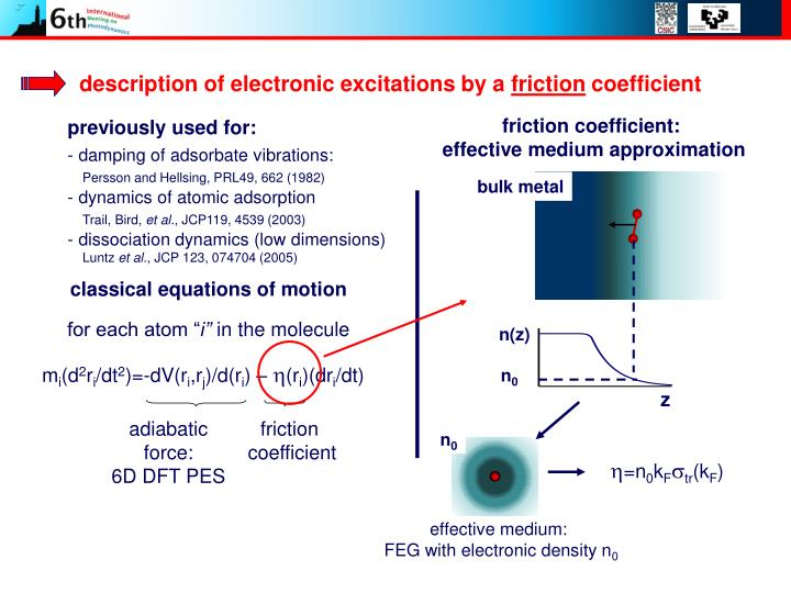 description of electronic excitations by a