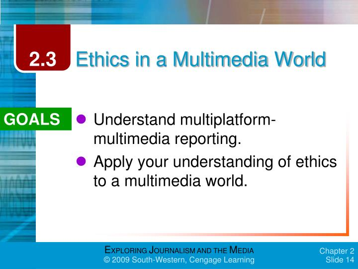 Introduction to Mass Media/Media Law and Ethics