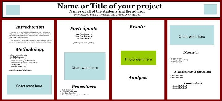 Name or Title of your project