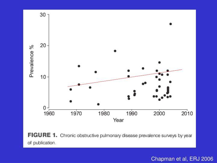 Chapman et al, ERJ 2006