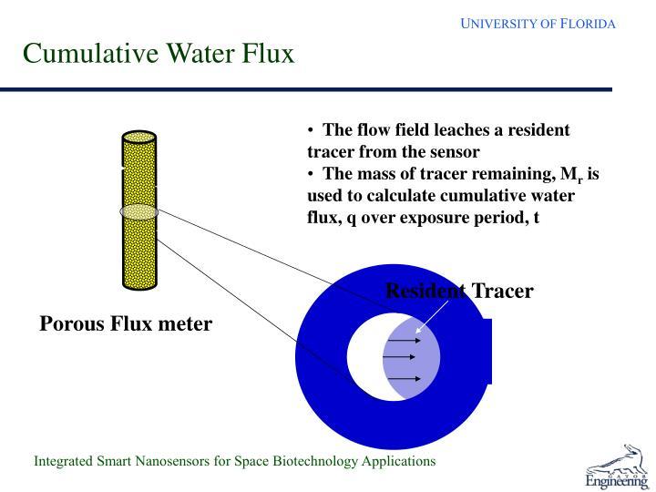 Cumulative Water Flux
