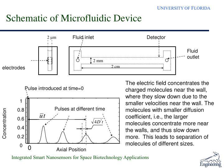 Schematic of Microfluidic Device