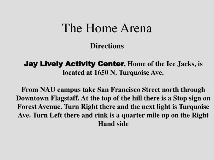 Jay Lively Activity Center