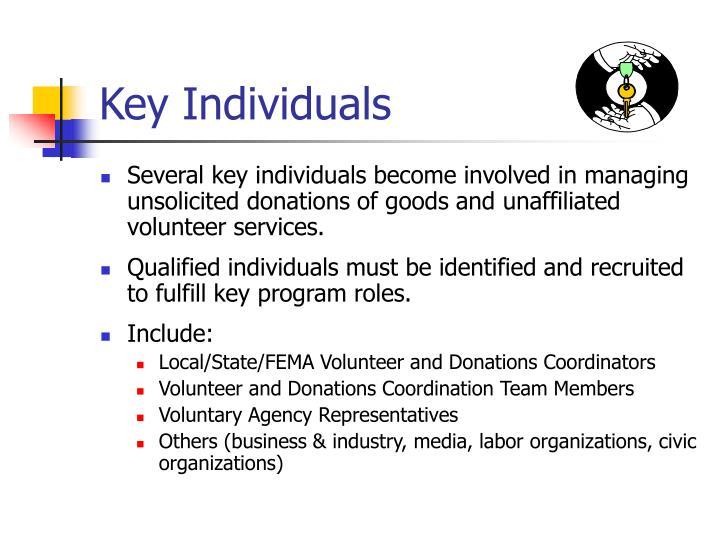 Key Individuals