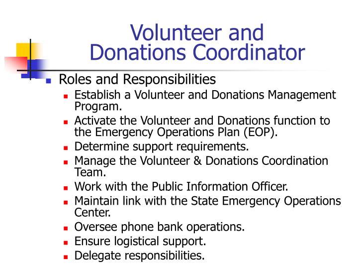 Volunteer and