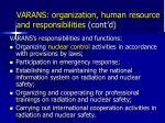 varans organization human resource and responsibilities cont d2