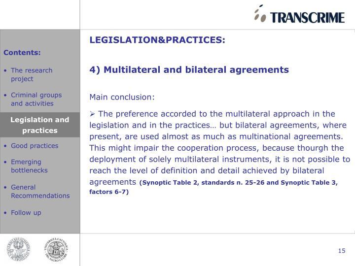 LEGISLATION&PRACTICES: