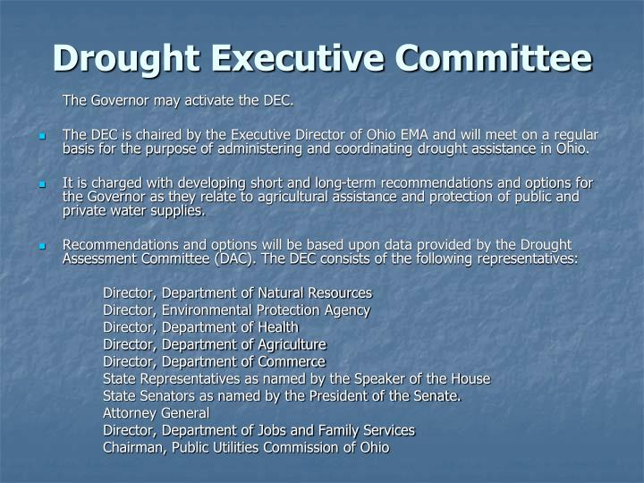Drought Executive Committee