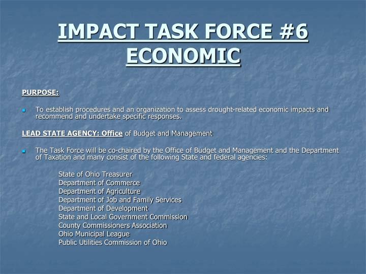 IMPACT TASK FORCE #6
