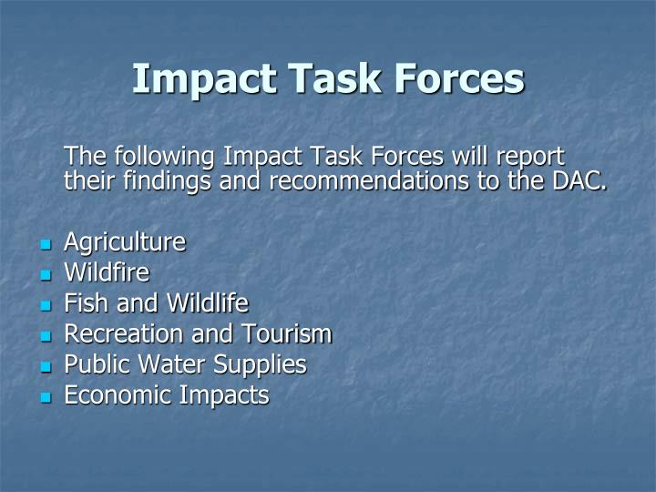 Impact Task Forces