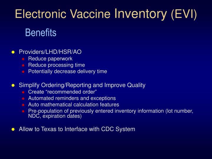 Electronic Vaccine