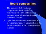 board composition3