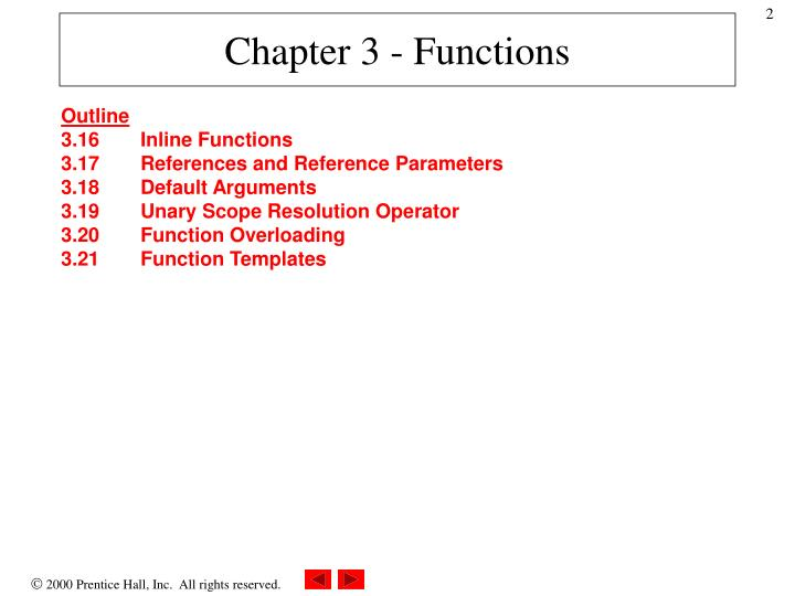 Chapter 3 functions1