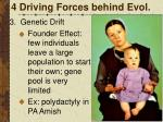 4 driving forces behind evol3