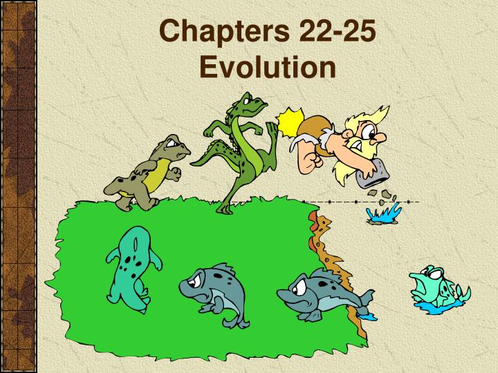 chapters 22 25 evolution